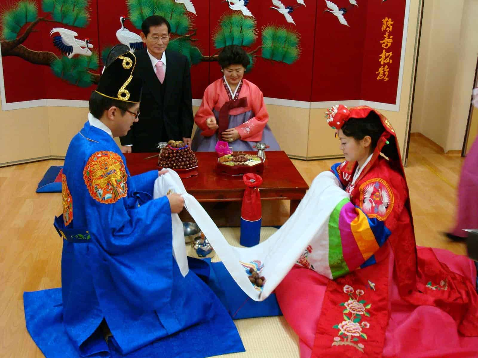 13 Steps In Traditional Wedding Korea Etiquette Ceremony Lovedevani