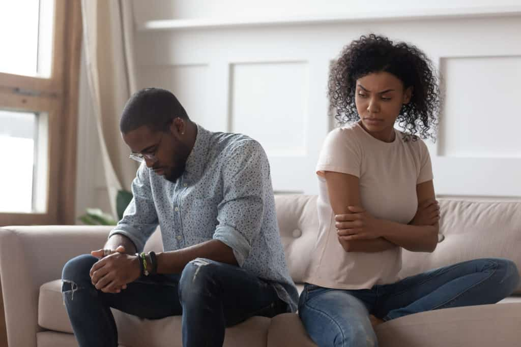 other signs of a sick relationship