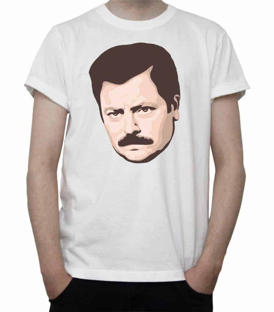 This image has an empty alt attribute; its file name is Ron-Swanson-899x1024.jpg