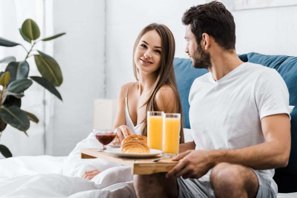 breakfast in bed proposal
