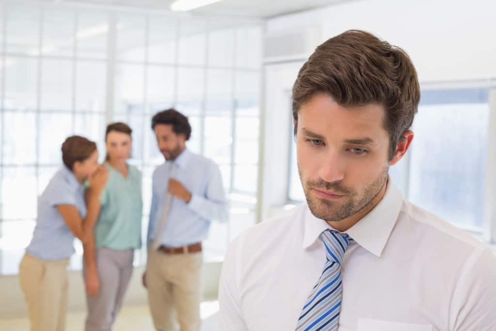 You're surrounded by unsupportive coworkers