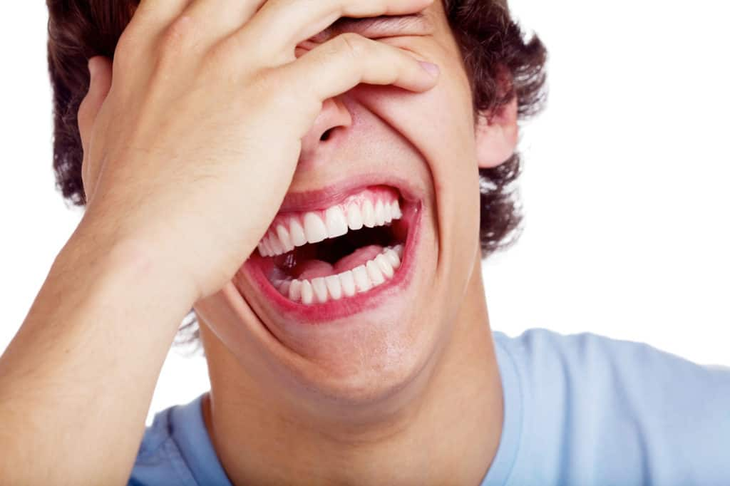 great at making him laugh