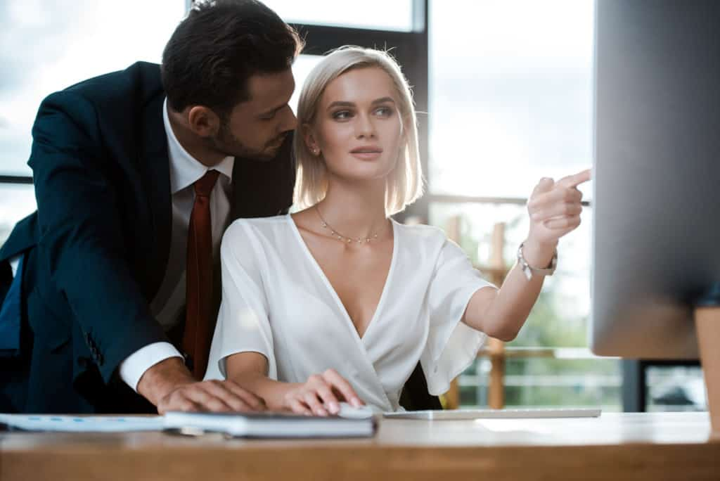 how to get her on you (for the coworker)