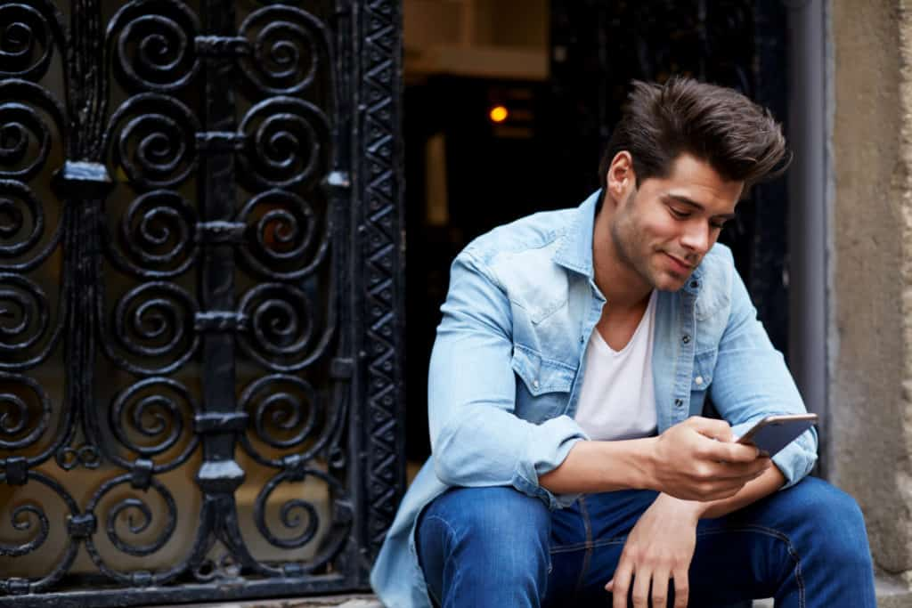 why they feel comfortable texting you