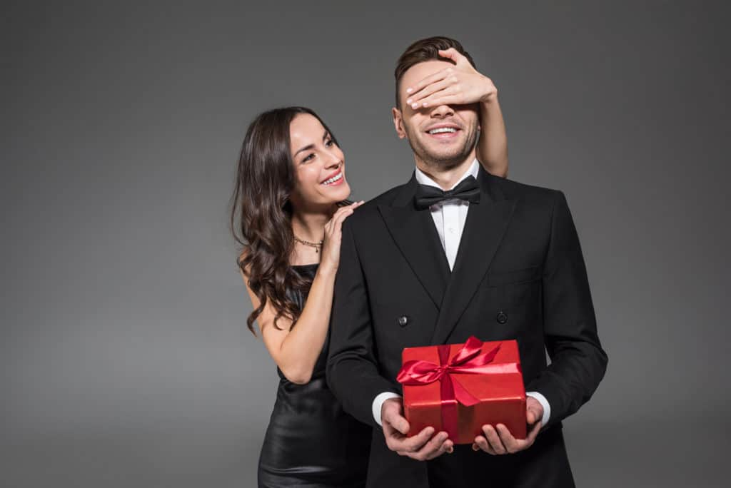 buy him the perfect gift